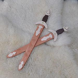 Houten Romeins zwaard in houten schede