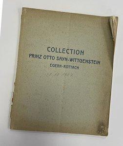 Collection Prinz Otto Sayn-Wittgenstein Egern-Rottach
