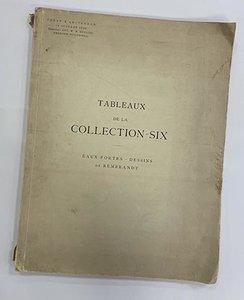 Tableaux de la Collection-Six Eaux fortes - dessins de Rembrandt, 16 oktober 1928